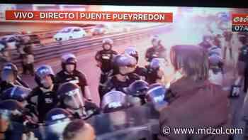 Insólito: Nicolás Del Caño renunció al Congreso y ahora corta el puente Pueyrredón - MDZ Online
