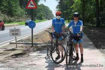 """Wielertoerist crasht op nieuw fietspad twee dagen voor de inhuldiging: """"Weinig verantwoordelijkheidszin als je een werf zo achterlaat"""""""
