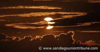 Bello amanecer en hemisferio norte con eclipse solar anular - San Diego Union-Tribune en Español
