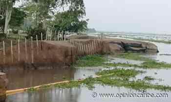 En Salamina, Alcaldía reportó nueva emergencia por la erosión del río Magdalena - Opinion Caribe