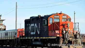 13 train cars derail in northern Alberta, no danger to public: CN Rail - CTV Edmonton
