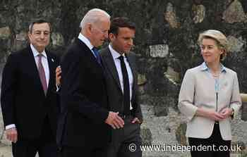 Biden to urge G-7 leaders to call out, compete with China