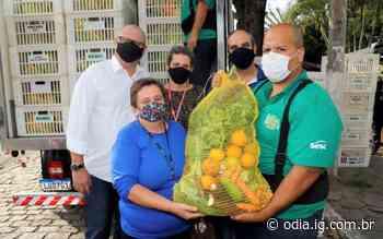 Rio das Ostras recebe doação de duas toneladas de alimentos para famílias em vulnerabilidade social - O Dia