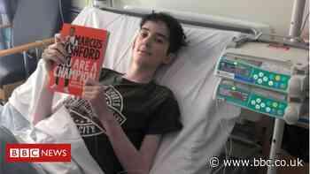 Alex Dragomir: Marcus Rashford pays tribute to 'superstar' football fan