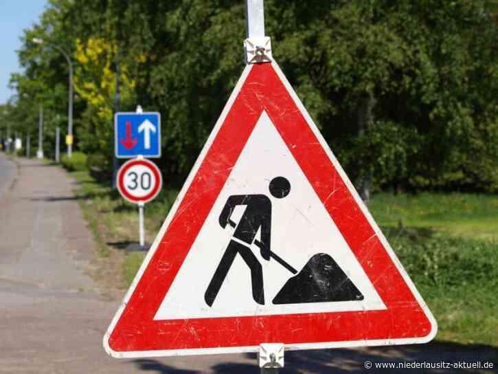 Bauarbeiten in Guben. Gehweg in Wilkestraße abschnittsweise gesperrt