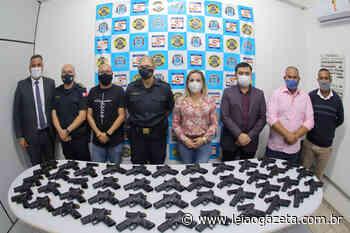 GCM de Suzano recebe doação de 44 novas armas - Leia o Gazeta