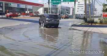 Guadalupe. Afecta fuga de aguas negras a vecinos de Linda Vista - Telediario Monterrey