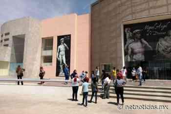 Exposición de Miguel Ángel es visitada por habitantes de Guadalupe - Netnoticias