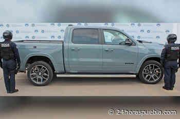 Recuperan camioneta robada, valuada en 1.2 millones de pesos en Guadalupe Hidalgo - 24 Horas El Diario Sin Límites Puebla