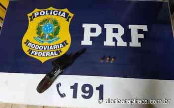 Ladrões que tinham acabado de roubar em Palmeira batem em viatura da PRF - Diário Arapiraca