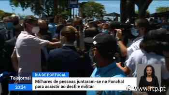 Banho de multidão rodeou Marcelo no Funchal - RTP