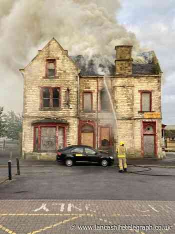 Burnley: Fire at Adelphi Pub on Station Road