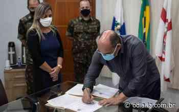 Prefeito toma posse como presidente da Junta Militar de Arraial do Cabo - O Dia