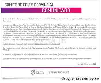 Son 583 los casos de Coronavirus registrados este viernes - Agencia de Noticias San Luis