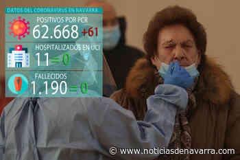 Coronavirus en Navarra, última hora: 61 casos el jueves, sexto día seguido sin muertes por el virus - Noticias de Navarra
