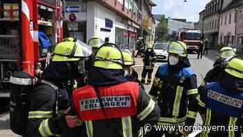 Kellerbrand in der Erlanger Goethestraße - Nordbayern.de