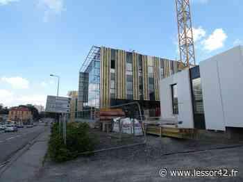 Rue de la Montat à Saint-Etienne, l'immeuble le Ginkgo sera livré à l'automne - Essor Loire