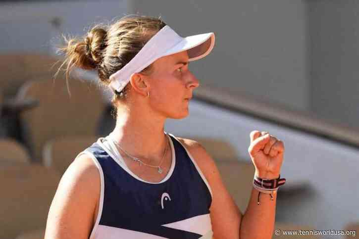 """Krejcikova: """"Final? I've always wanted to play this kind of matches"""""""