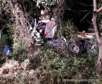Caminhão de empresa erechinense se envolve em grave acidente entre Passo Fundo e Ernestina - Jornal Boa Vista