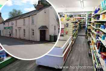 Busy Herefordshire village shop and post office is up for sale