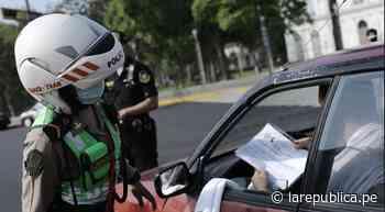 San Borja, Cercado de Lima y Jesús María son los distritos con más infracciones vehiculares - LaRepública.pe