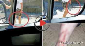 Arles : Un candidat du Rassemblement National agressé par un individu. Jet d'huile, coup de matraque et de poing. Regardez - ACTU Pénitentiaire