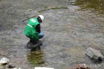 San Mateo: OEFA supervisa presunto derrame de relave en el río Aruri - Agencia Andina