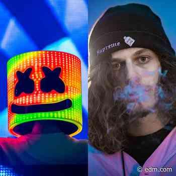 "Listen to Marshmello and Subtronics' Relentless Dubstep Banger, ""House Party"" - EDM.com"