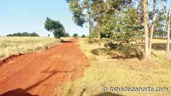 Prefeitura realiza recuperação e manutenção de estradas - Folha De Cianorte