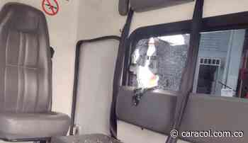 Autoridades de Risaralda rechazan ataque con piedras a una ambulancia - Caracol Radio