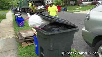 Nationwide shortage of workers impacts trash collection in Camden County town - News 12 Bronx