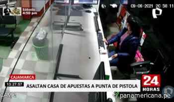 Cajamarca: captan asalto en casa de apuestas en Chota | Panamericana TV - Panamericana Televisión