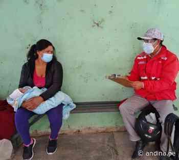 Cajamarca: Juntos promueve atención oportuna de gestantes y recién nacidos - Agencia Andina