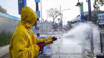 Operativo de desinfección en Carapachay - zonanortehoy.com