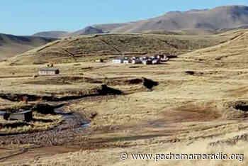 Yunguyo: denuncian supuesta titulación de tierras en comunidad Vilurcuni de Ollaraya - Pachamama radio 850 AM