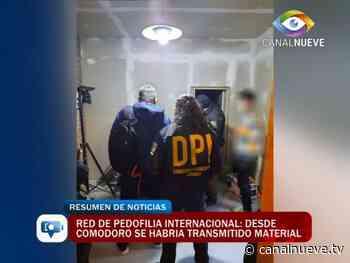 Red de Pedofilia. Desde Comodoro Rivadavia se habría transmitido material - Canal 9