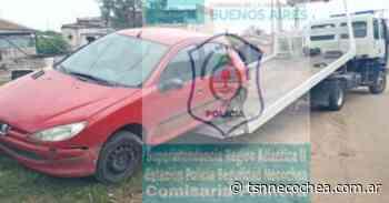 Circulaba en un auto robado con la patente mal pintada - TSN Noticias