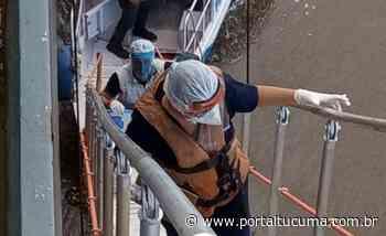 Monitoramento sobre Covid-19 em navio estrangeiro que atracou em Itacoatiara é realizado pela FVS-AM - Portal Tucumã