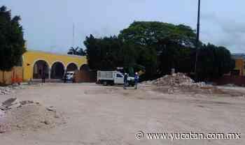 No quieren puestos en el parque central de Izamal - El Diario de Yucatán