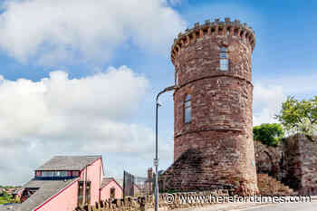 Inside the historic Herefordshire tower home selling for £450,000