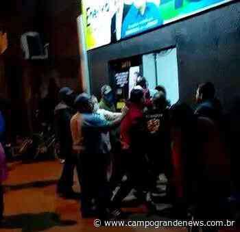 Véspera de eleição é marcada por confusão e pancadaria - Campo Grande News