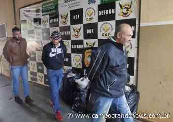 Três são presos em entreposto de supermaconha na fronteira - Campo Grande News