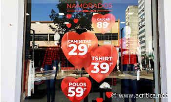 Com bandeira cinza, comércio de Campo Grande prevê prejuízo às vésperas do Dia dos Namorados - Portal do Jornal A Crítica de Campo Grande/MS