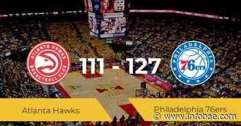 Philadelphia 76ers se queda con la victoria frente a Atlanta Hawks por 111-127 - infobae