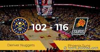 Phoenix Suns se hace con la victoria contra Denver Nuggets por 102-116 - infobae