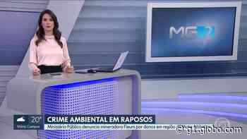 Ministério Público denuncia mineradora por crimes ambientais em Raposos - G1