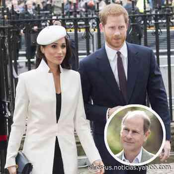 """El príncipe Edward rompe el silencio sobre pleito con Harry y Meghan: """"Es muy triste"""" - Yahoo Noticias"""