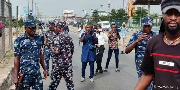 Police disrupt June 12 protests in Lagos, disperse protesters