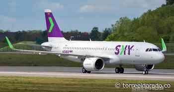 Nuevo Avión de Fábrica para SKY Airline - torreeldorado.co