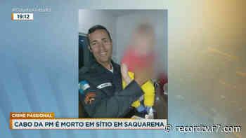 RJ: polícia investiga morte de PM em Saquarema - Record TV